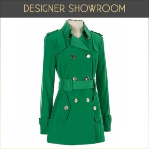 Green trench, Burlington Coat Factory, $69.99